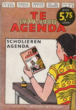 - Te Agenda 1979-1980, Scholierenagenda