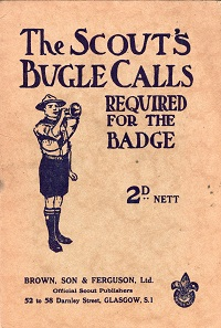 - The Scout's Bugle Calls